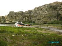 Посадка на Белой реке  100 км от Н-Мара на запад 1.JPG
